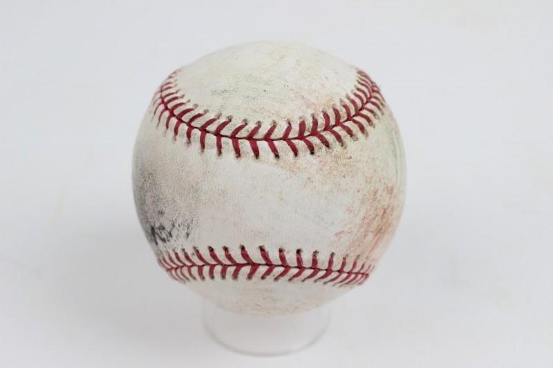 April 11, 2005 Opening Day - Yankees vs. Red Sox Game-Used Baseball (MLB Hologram)