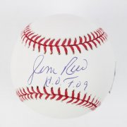 Boston Red Sox - Jim Rice Signed & Inscribed Baseball - COA
