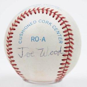 Boston Red Sox - Smoky Joe Wood Signed OAL (Brown) Baseball