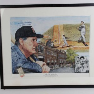 "Boston Red Sox - Ted Williams ""End of an Era"" Signed"
