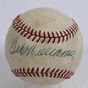 Boston Red Sox - Ted Williams Signed OAL (MacPhail) Baseball