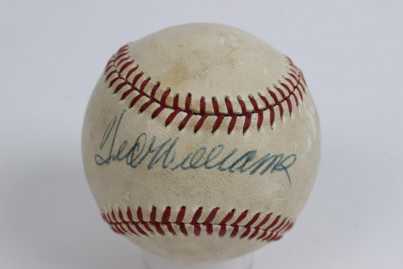Boston Red Sox - Ted Williams Signed OAL (MacPhail) Baseball - JSA