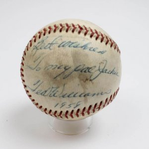 Boston Red Sox - Ted Williams Signed