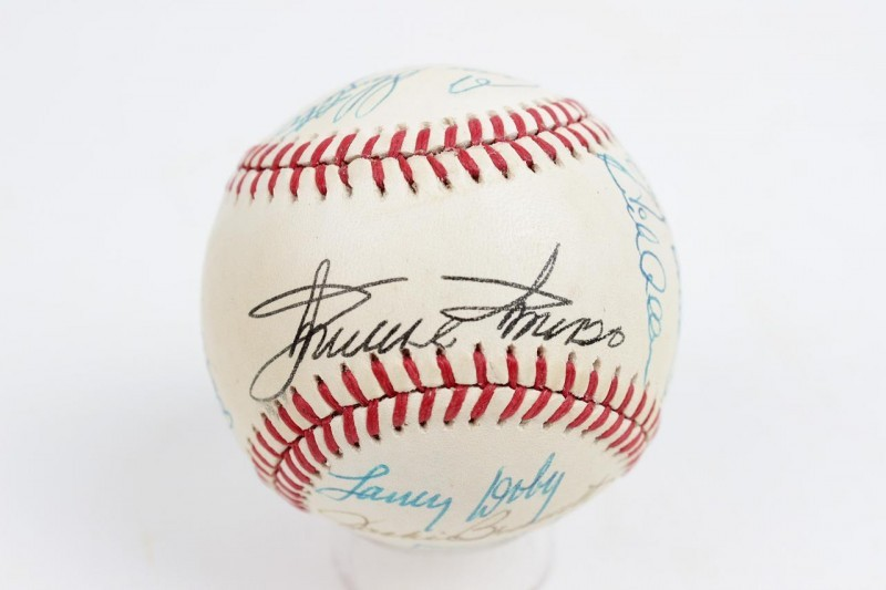 Hall of Fame & Old Timers Multi-Signed Baseball 14  Sigs. Incl. Minnie Minoso