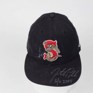 Jon Papelbon Sarasota Red Sox Signed & Inscribed (G/U 2004)  Gsme Word Cap