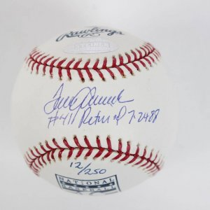 New York Mets - Tom Seaver Signed & Inscribed Retired Jersey HOF OML Baseball (Steiner Hologram)