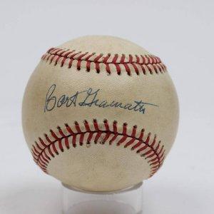 Scarce Bart Giamatti Autographed ONL Giamatti Baseball
