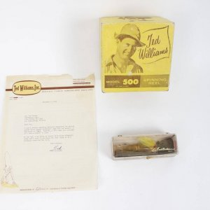 Ted  Williams INC Letter Head .