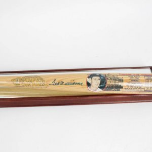 Ted Williams Signed Cooperstown Famous Player Series Bat