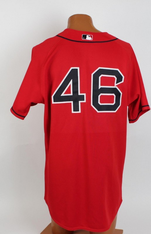 Boston Red Sox - Jacoby Ellsbury Game-Issued Red Alternate Jersey - COA