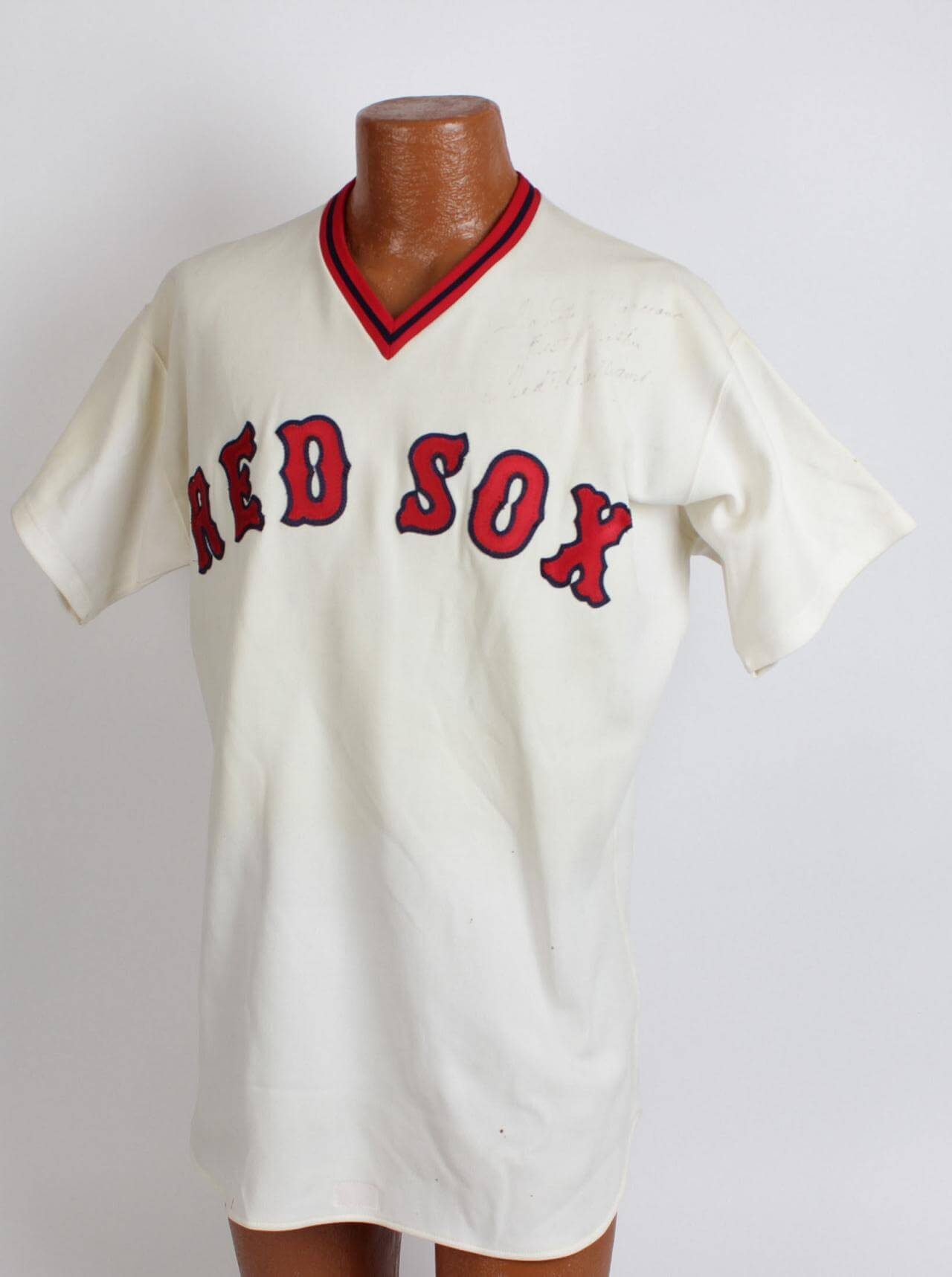 new style 8becc e68c0 Boston Red Sox - Ted Williams Spring Training Coaches Jersey Signed &  Inscribed to Marciano's Sporting Goods