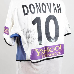 San Jose Earthquakes - Landon Donovan Game-Worn