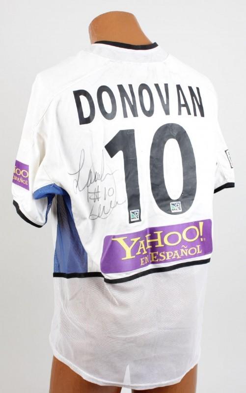 San Jose Earthquakes - Landon Donovan Game-Worn, Match-Worn & Signed Jersey