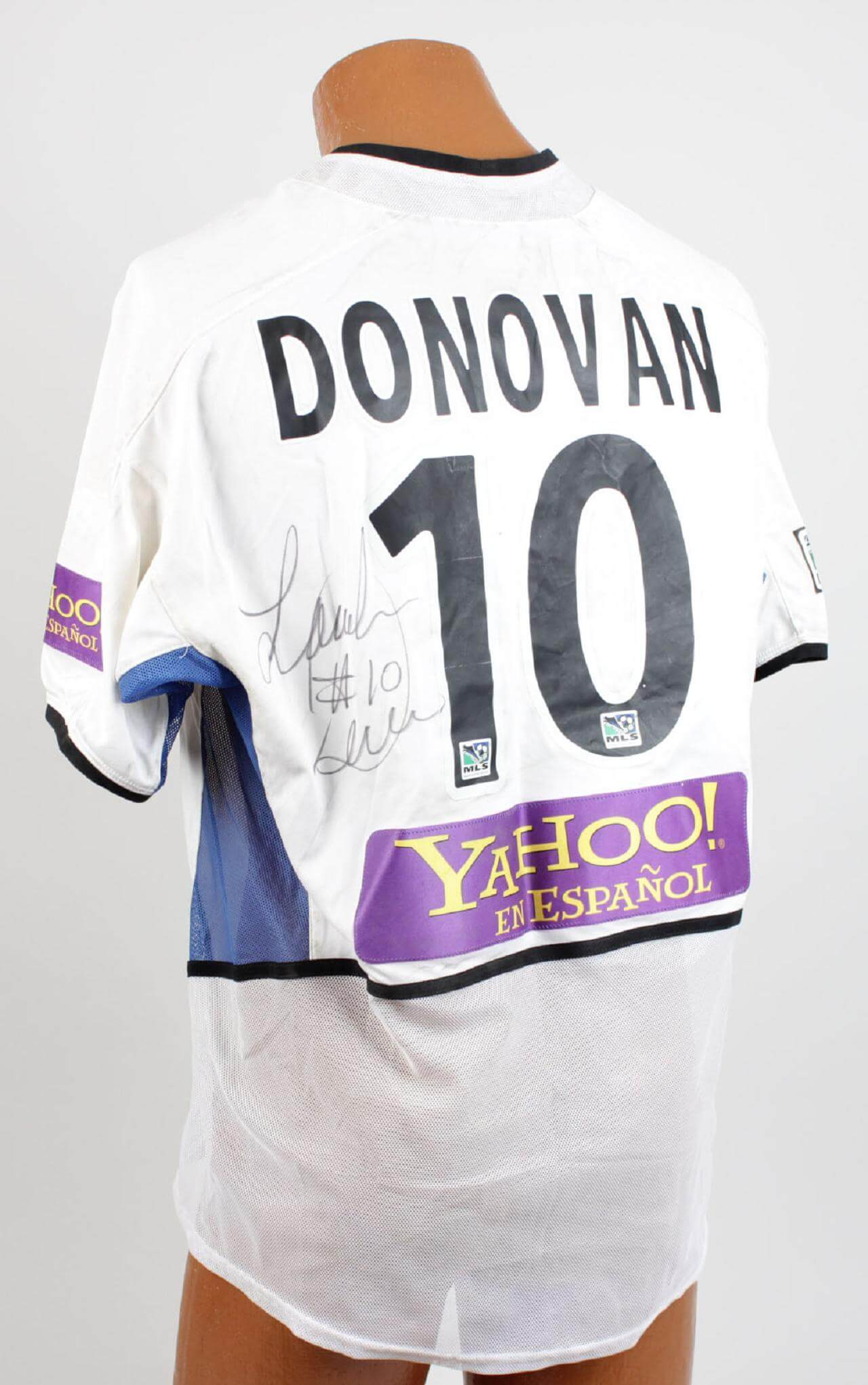San Jose Earthquakes – Landon Donovan Game-Worn