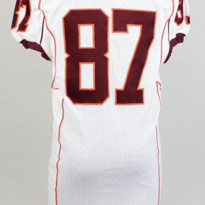 2011 Virginia Tech Hokies - Prince Parker Signed Game-Worn Jersey (feat. Orange Bowl Patch