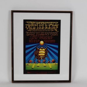 Bill Graham Presents Jimmy Hendrix Experience Concert Poster at Winterland