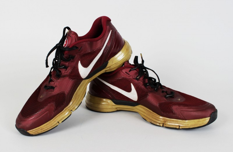 2013 BCS National Champions Florida State Seminoles - Jameis Winston Pre-Game Field Worn Warm-Up Sneakers Shoes (Incl. Provenance LOA)
