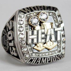 2013 Miami Heat World Championship Jostens Salesman Sample Oversized Ring (Originated from Ray Allen with Provenance LOA)