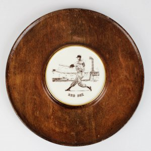 Boston Red Sox Ted Williams Vintage Plate