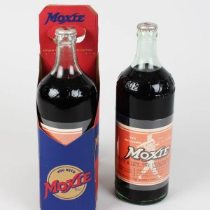 Boston Red Sox Ted Williams Vintage Moxie Soda