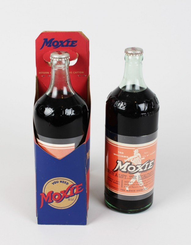Boston Red Sox - Ted Williams Vintage Moxie Soda