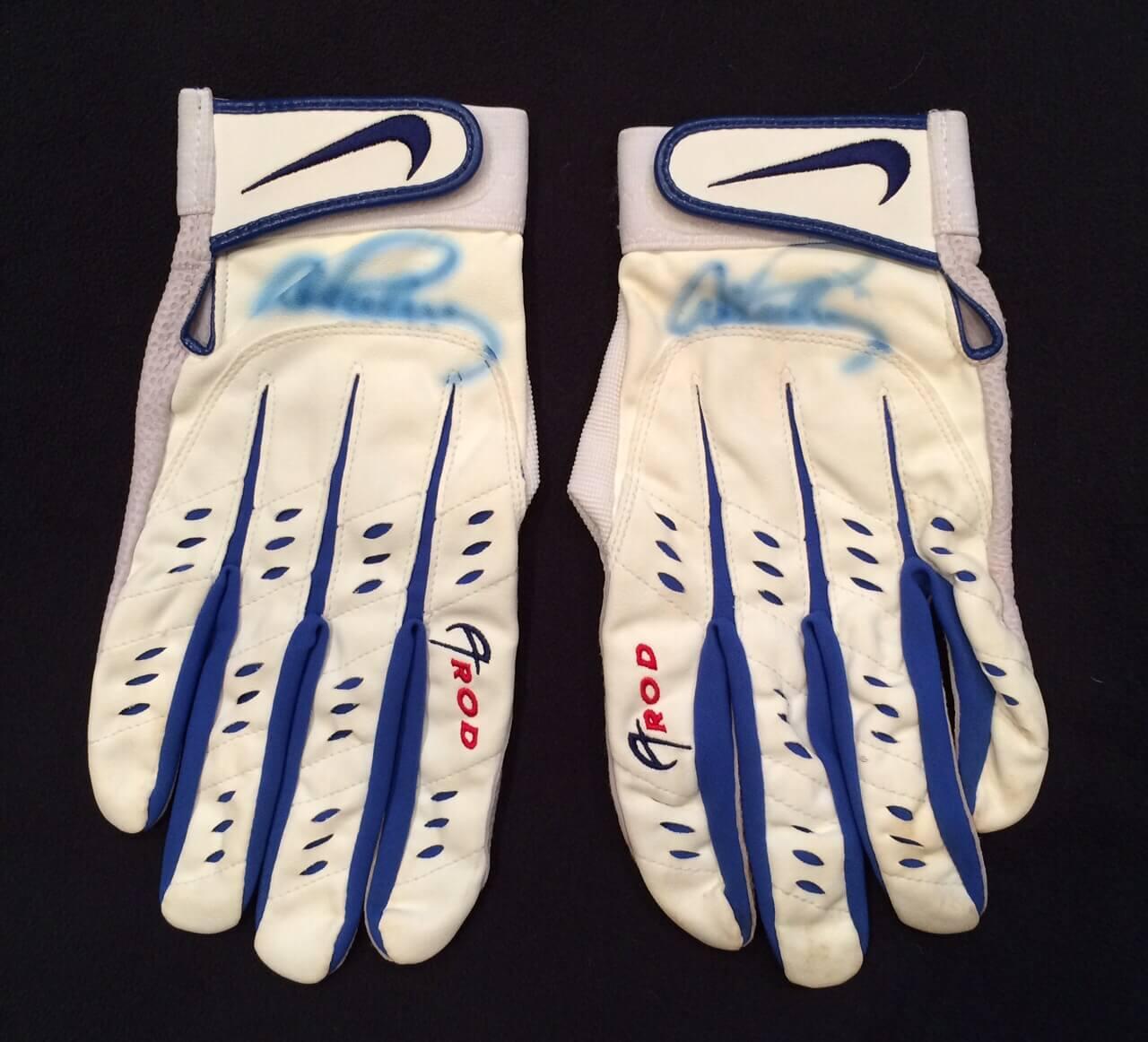 Alex Rodriguez Batting Gloves
