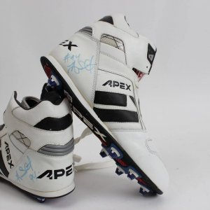 Oakland Raiders - Anthony Smith Signed Apex Cleats Shoes