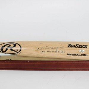"Atlanta Braves - Dale Murphy Signed, Inscribed ""NL MVP 82, 83"" Rawlings Big Stick Bat"