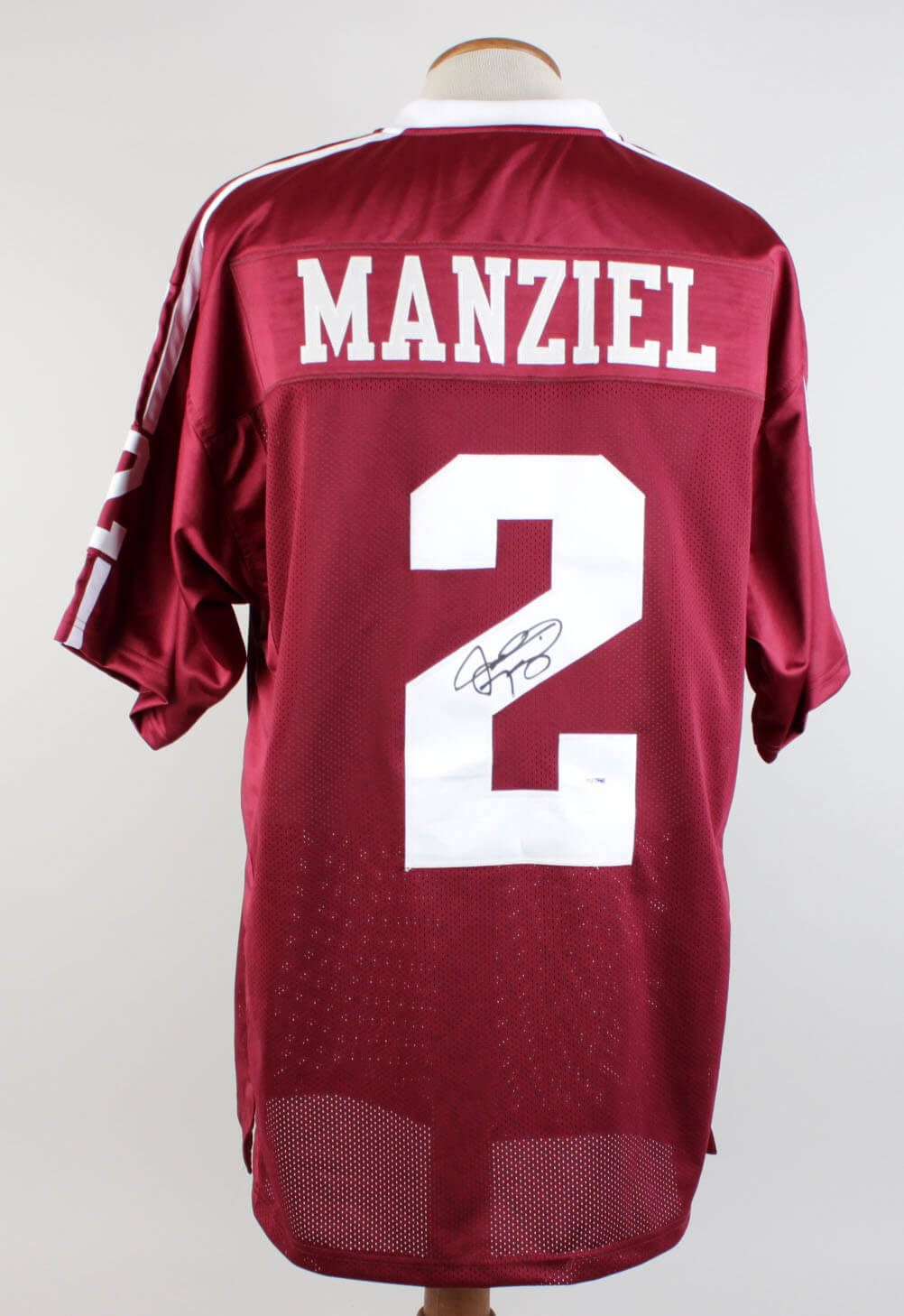 best website c7731 425b9 MANZIEL Johnny Football Signed Texas A&M Aggies Jersey