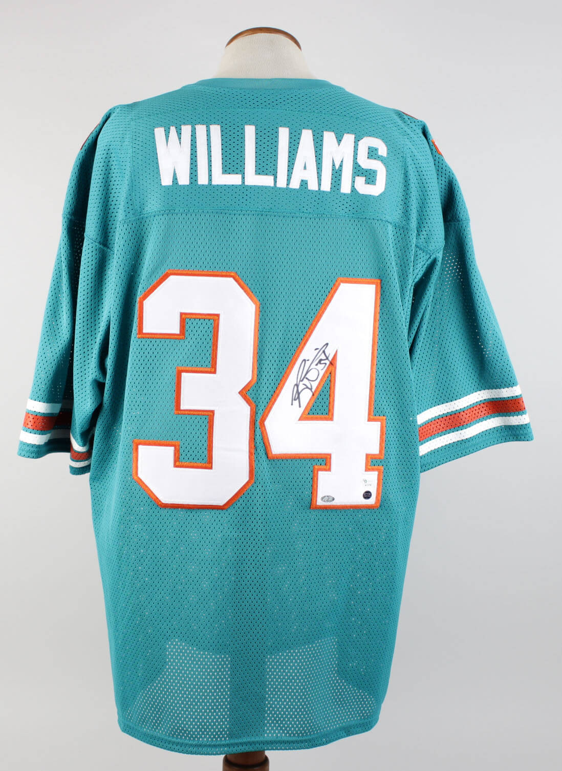 outlet store 0c15a a9da7 Miami Dolphins - Ricky Williams Signed & Inscribed Home Jersey - COA