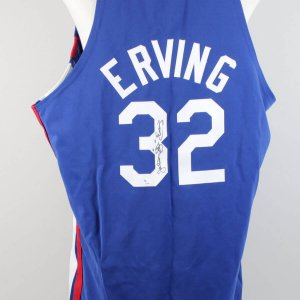 ABA Dr. J. Julius Erving Signed Jersey