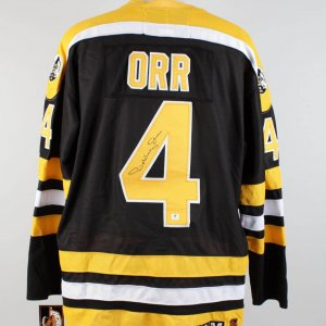 Boston Bruins Bobby Orr Signed Jersey