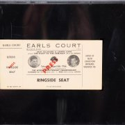 1966 Muhammad Ali vs. Brian London Ringside Press Seat Full Ticket (Ali KO in RD 3) (SGC Encapsulated as Authentic)