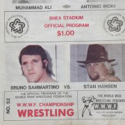 June 25th 1976 - Muhammad Ali vs.  Antonio Inoki Closed Circuit Fight Program at Shea Stadium - Also feat. Bruno Sammartino vs. Stan Hansen
