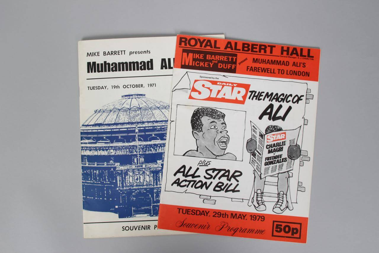 Muhammad Ali October 19th 1971 & May 29 1979  Royal Albert Hall Programs81715_04_lg