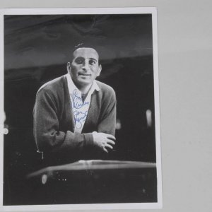 Tony Bennett Signed & Inscribed (Best Wishes) Vintage B&W Photo