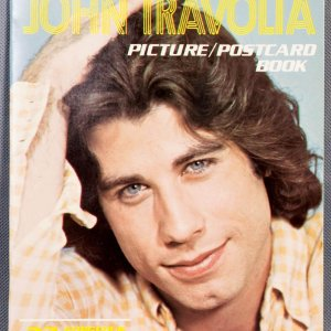 1978 John Travolta Picture/Postcard Book