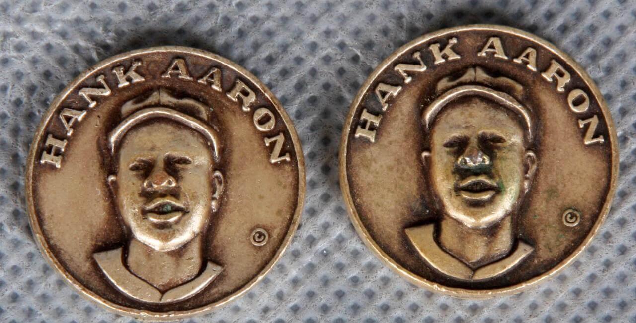 1969 Henry Aaron Vintage Citgo Gas Centennial Series Coins67784_01_lg