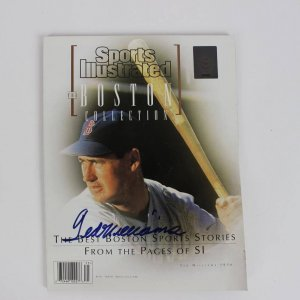 1997 Boston Red Sox Ted Williams Signed Sports Illustrated Magazine