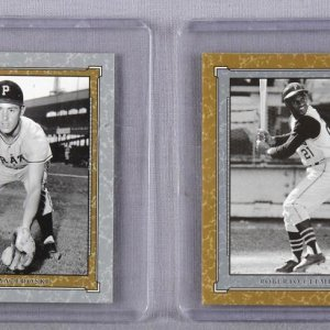 2001 SP Legendary Cuts - Pittsburgh Pirates Lot - Roberto Clemente & Bill Mazeroski Game-Worn Jersey & Used Bat Swatch Cards
