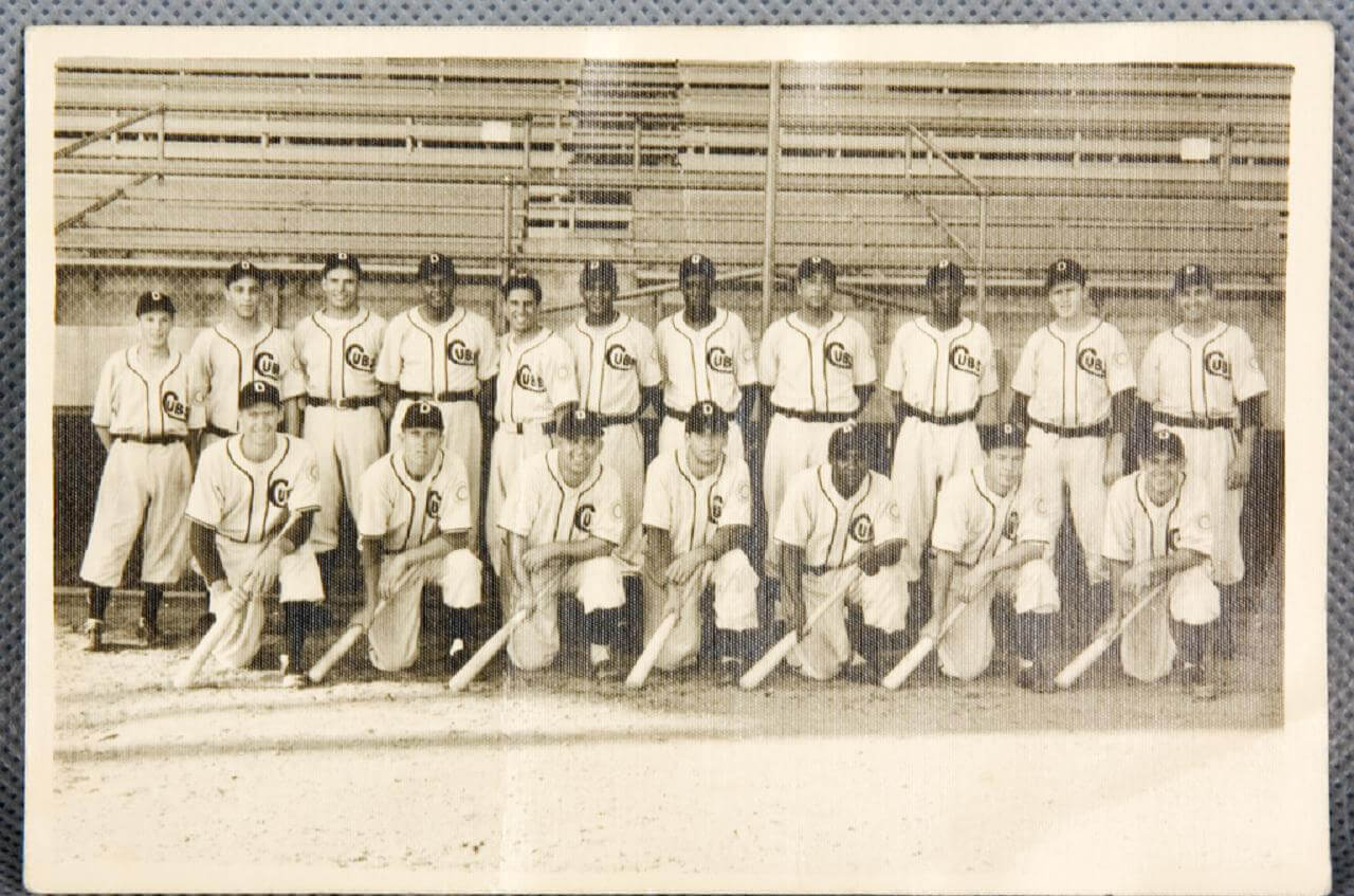 Circa 1949 Cubs Team Photo (Decatur)
