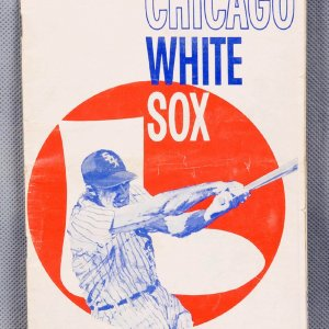 1962 Chicago White Sox Official Scorebook