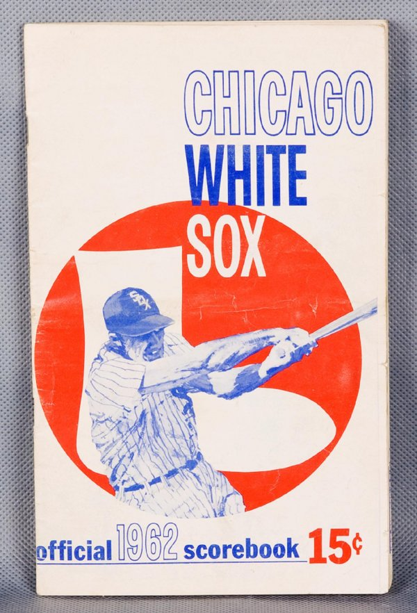 1962 Chicago White Sox Scorebook