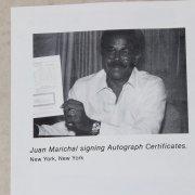(8) S.F. Giants Signed 8x10s-  Incl. Bonds, Clark, Perry, Santiago etc. - COA
