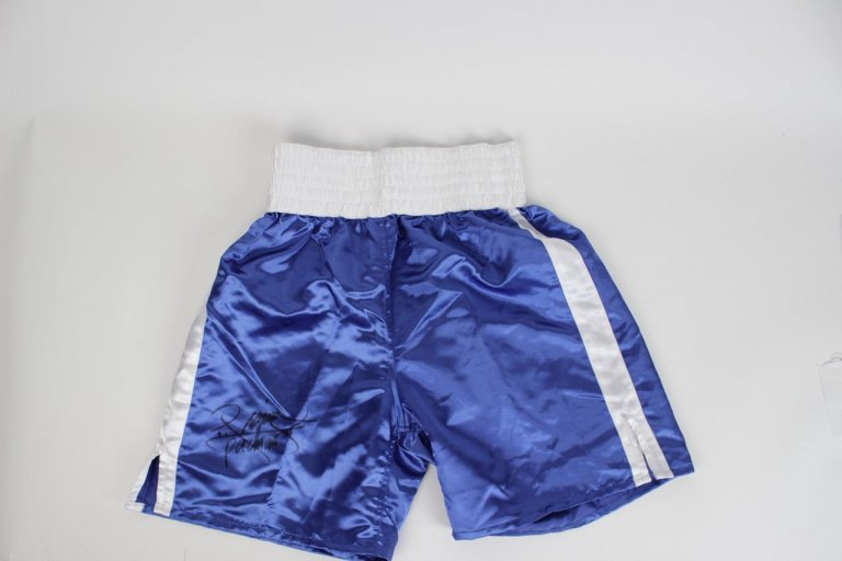 Manny Pacquiao Signed Boxing Trunks - COA PSA/DNA