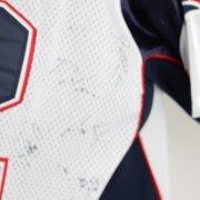 Patriots Tom Brady Team-Signed White Brady Jersey Brady,Welker,Gronkowski,Belichick,Mayo  -COA Global