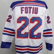 New York Rangers - Nick Fotiu Signed Jersey