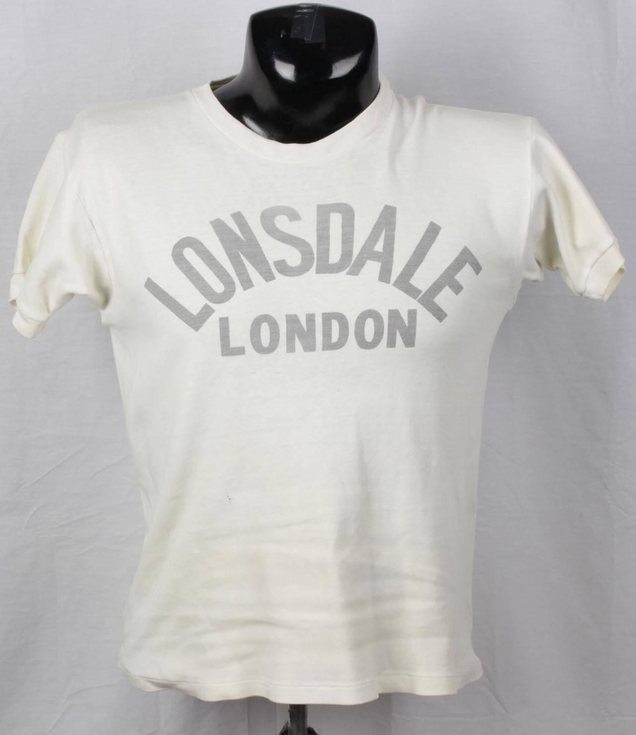Ken Norton Fight Shirt Worn by Eddie Futch Lonsdale London (Futch Collection)