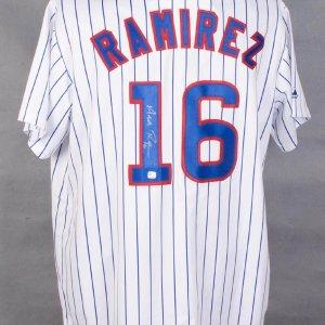 Aramis Ramirez Signed Cubs Jersey