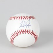 Nolan Ryan Signed Baseball Rangers - COA